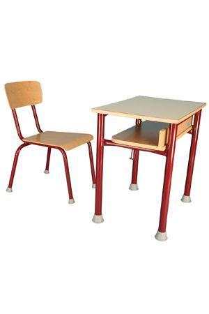 BOTOND 1 személyes tanulóasztal - laminált asztallap, kerekített sarok