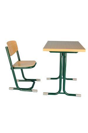 Nóra 1 személyes tanulóasztal -laminált asztallappal