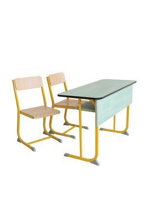 Derby 2 személyes tanulóasztal - dekorit asztallappal