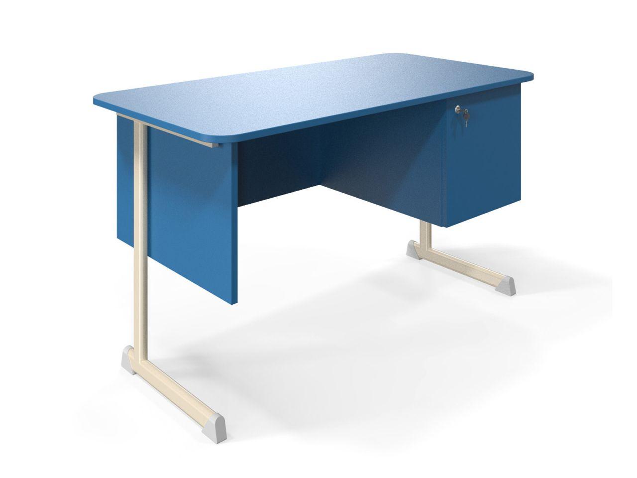 KEX tanári asztal szekrénnyel